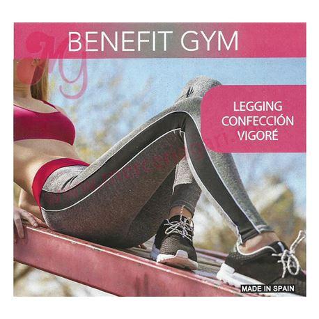 """Legging """"54086"""" sra. deportivo 94% poliamida gris"""