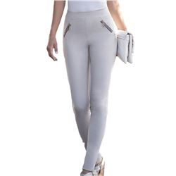 "Legging pantalón cremalleras ""pants smart fit casual"" - janira"
