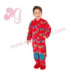 "Pijama manta niño tractores ""171908"" - muslher"