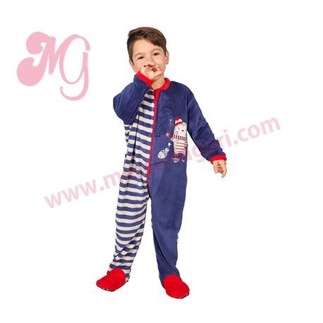 """Pijama manta niño pingüino """"171901"""" - muslher"""