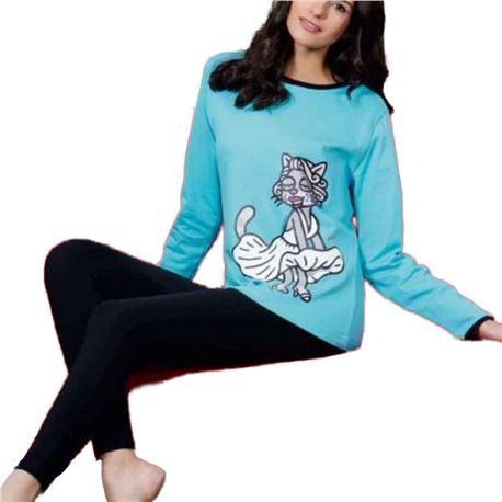 "Pijama sra. m/l + legging ""4218 - marilyn"" - kukuxumusu"