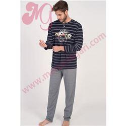 "Pijama cro. m/l p/l visco cascos ""671302"" - massana"