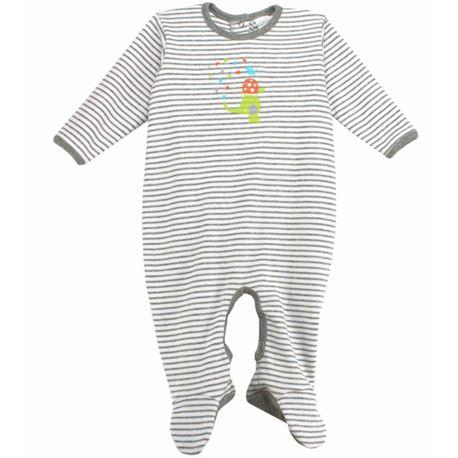 "Pelele bebe m/l 100% alg. animales ""4646"" rapife"