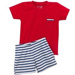 "Pijama niño m/c p/c 100% alg. marinero ""5604"" - rapife"