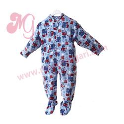 "Pijama manta unisex vehiculos ""75050"" - arabesco"