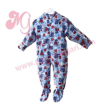 "Pijama manta unisex vehiculos ""75050"" - arabesco"