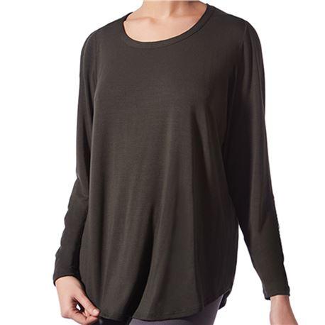 "Camiseta m/l básica ancha ""cta. m/l loose spa modal"" - janira"