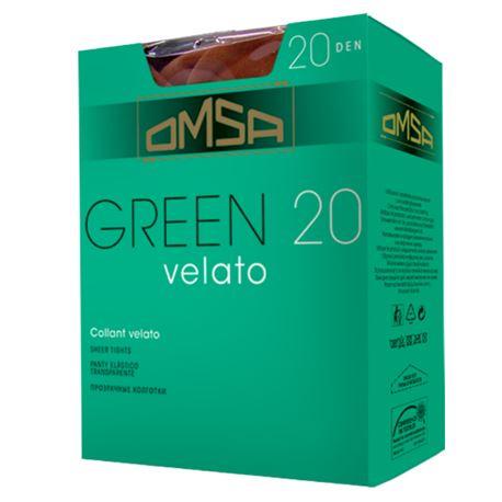"""Panty señora espuma """"green"""" 2 pares - omsa"""