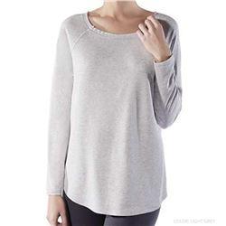 "Camiseta m/l básica ancha vigore ""cta. m/l loose spa modal"" - janira"