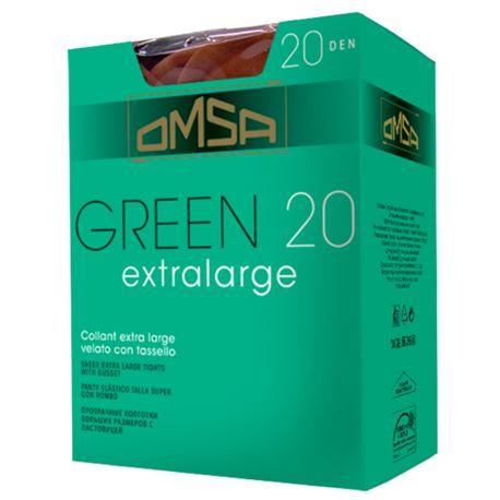 "Panty sra. espuma 20den ""green"" - omsa"
