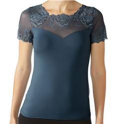 "Camiseta m/c encaje + modal ""m/c cc greta"" - janira"
