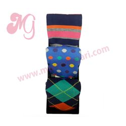 "Pack-3 pares calcetines cro. + caja regalo ""74703-10"" - punto blanco"