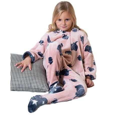 "Pijama manta niña elefantes ""201901"" - muslher"