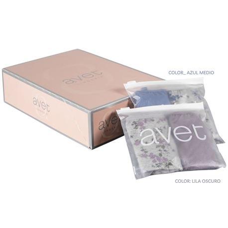 """Pack-2 bragas sra. alg. lisa + flores """"33927"""" - avet"""