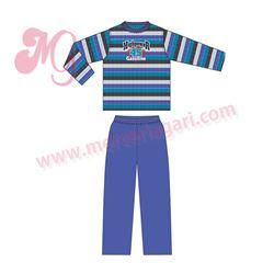 """Pijama niño m/l p/l 100% alg. """"5143"""" - tobogan"""