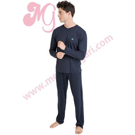 "Pijama cro. m/l 50% alg. topitos ""701341"" - massana"