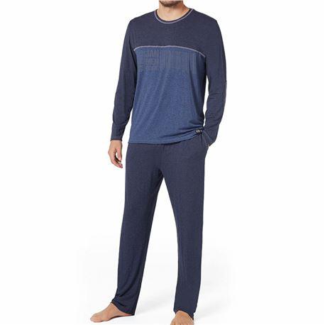 """Pijama cro. m/l 100% alg. """"pij. ml vigor code"""" - jan men"""