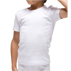 "Camiseta m/c infantil térmica 100% alg. ""380"" - rapife"