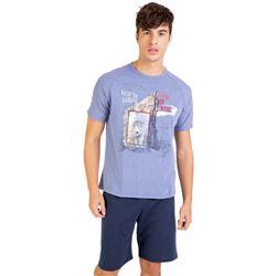 """Pijama cro. m/c p/c montaña """"211301"""" - massana"""