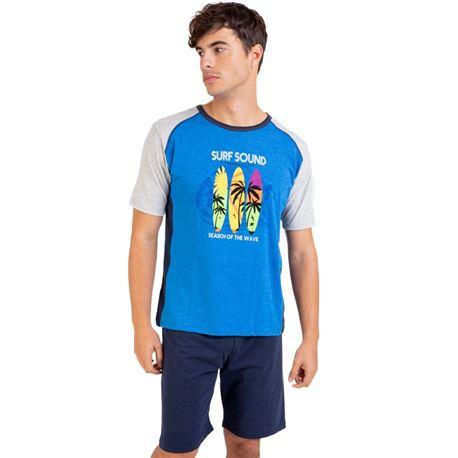 "Pijama cro. m/c p/c surf ""211329"" - massana"