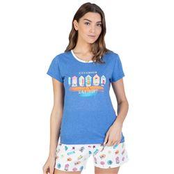 "Pijama sra. m/c p/c detalles playa ""211202"" - massana"