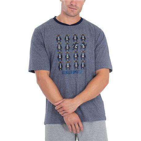 """Pijama cro. m/c p/c alg. boo brtohers """"5296"""" - kukuxumusu"""