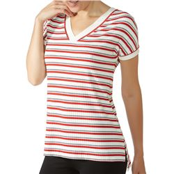 "Camiseta sra. m/c rayas ""m/c loo genova"" - janira"