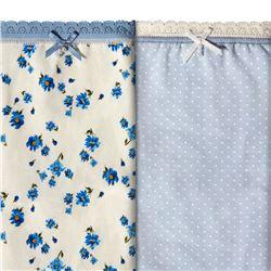 """Pack-2 bragas sra. fantasia """"p2 brislip coq petit blue co"""" - janira"""