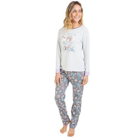 """Pijama sra. m/l p/l tea time """"711206"""" - massana"""