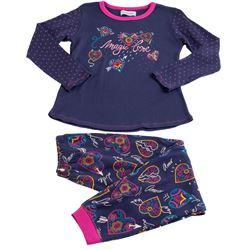 "Pijama niña m/larga 100% alg. corazones ""711110"" - massana"