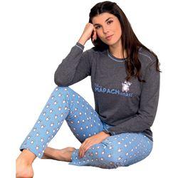 "Pijama sra. m/l mapachionas ""97287"" - marie claire"