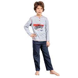 """Pijama niño m/l p/l moto """"213620"""" - muslher"""