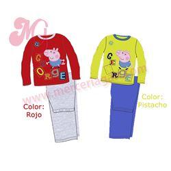 """Pijama m/l 100%alg. """"peppa pig-5204307"""""""