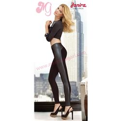 "Legging punto + cuero ""fashion"" - janira"