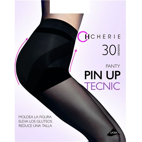 """Panty sra. reductor pin up 30 den """"5511"""" - cherie"""