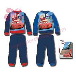 """Pijama niño m/l p/l puño cars """"831013"""""""