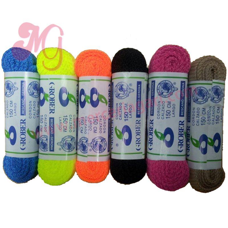 c6d8e455b7765 Par cordones zapatillas colores 150cm - CORDONES ZAPATILLAS