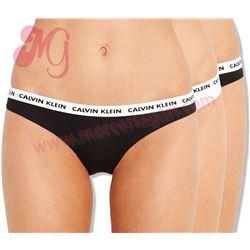 "Pack-3 bragas sra. bikini ""d1623e-swv"" - calvin klein"