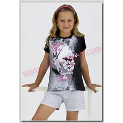 "Pijama niña m/c fantasy ""131107"" - masaana"