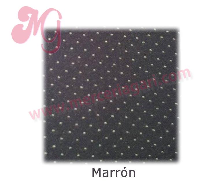 MARRON CON BEIGE
